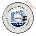 Диск алмазный 300 мм керамогранит и мрамор CARAT Turbo Brilliant CDC